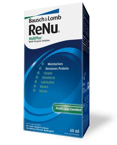 раствор renu multiplus 60мл для конт, линз Bausch and Lomb