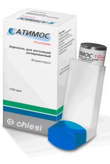 атимос аэрозоль для инг, 12мкг/доза № 120доз Chiesi Farmaceutici S.p.A./Фармс
