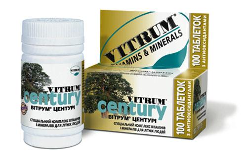 витрум центури таблетки покрытые оболочкой №30 Unipharm Inc.