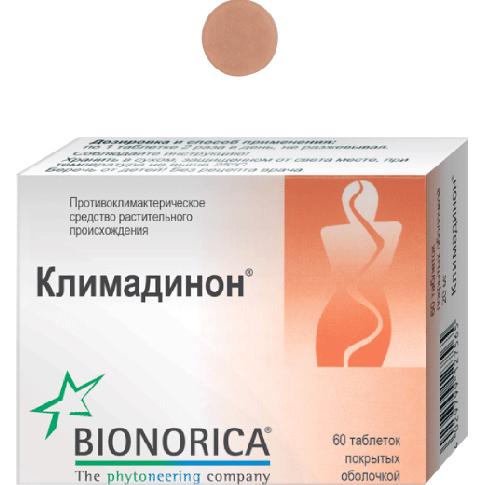 климадинон таблетки покрытые оболочкой №60 Роттендорф Фарма ГмбХ/Бионорика СЕ
