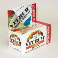 витрум таблетки покрытые оболочкой №60 Unipharm Inc.