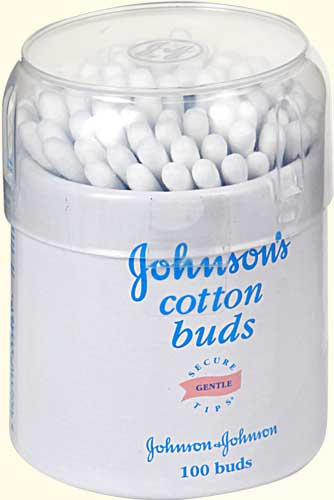 джонсон беби ватные палочки №100 Johnson and Johnson (Италия)