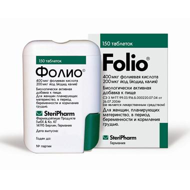 фолио таблетки n150 SteriPharm Pharmazeutische Produkte Gmbh