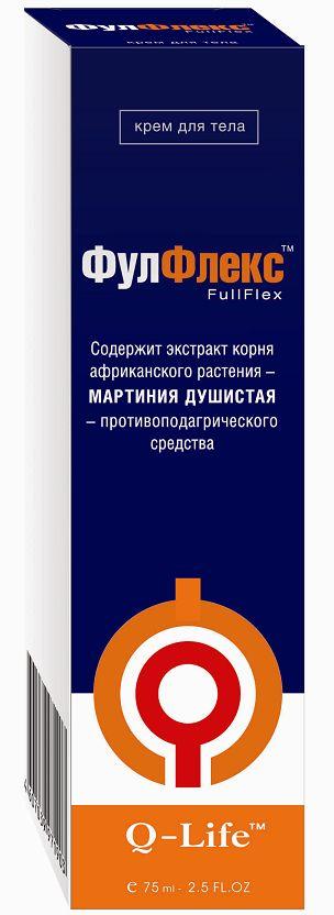фулфлекс крем при заболевании суставов 75мл ВИС ООО