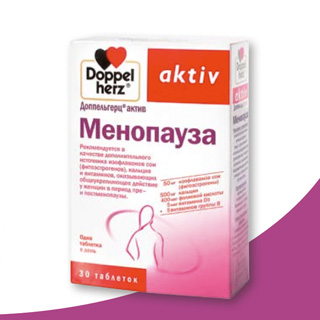 доппельгерц актив менопауза таблетки №30 Queisser Pharma GmbHandCo.KG