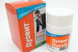 дуовит для мужчин таблетки покрытые оболочкой №30 KRKA