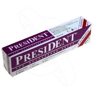 президент зубная паста эксклюзив 100мл Бетафарма АО