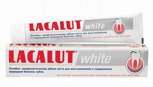 лакалют зубная паста уайт 75мл Naturwaren/Arcam Gmbh