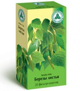 береза листья фильтр-пакет 1,5г №20 (красногорск) КРАСНОГОРСКЛЕКСРЕДСТВА
