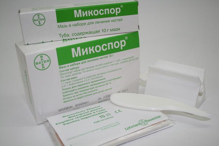 Озонотерапия при лечении грибка ногтей