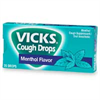"викс леденцы (vicks throat drops)""ментол""75г"