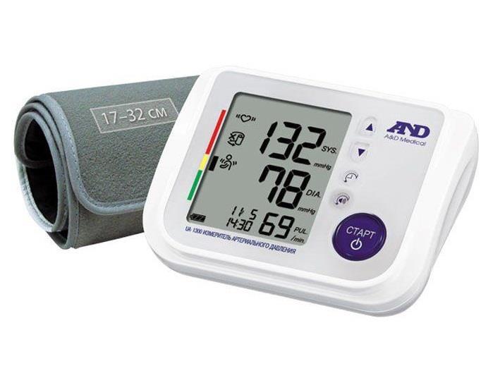 тонометр and автоматический ua-1300 с голосовым сопровождением AandD Compahy Ltd.