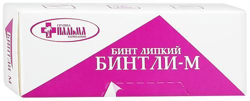 бинт липкий проницаемый м 10 см * 2 м ГК Пальма ООО