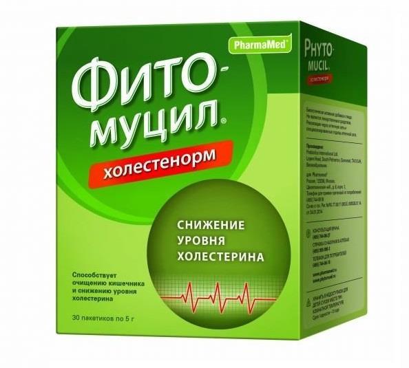 фитомуцил холестенорм №30 пакетиков Probiotics International Ltd/Фар