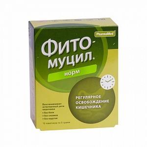 фитомуцил норм порошок №10 пакетиков PROBIOTICS INTERNATIONAL LT GB