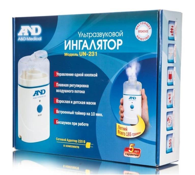 ингалятор and un-231 ультразвуковой AandD Compahy Ltd.