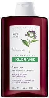 клоран шампунь с хинином 400 мл Klorane