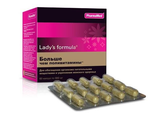 ледис формула больше чем поливитамины капсулы n60 Pharmamed/West Coast Laboratories, Ins.