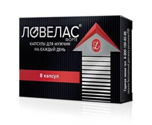 ловелас форте №8 капс Растительные Ресурсы НПК ООО