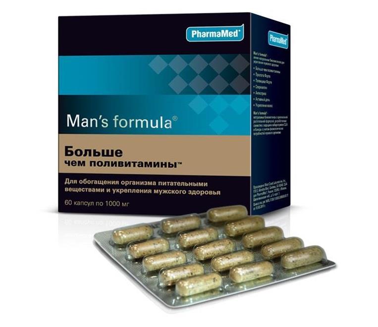 менс формула больше чем поливитамины капсулы №60 West Coast Laboratories
