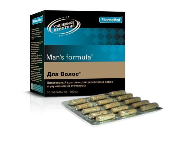 менс формула для волос таблетки №30 Pharmamed/West Coast Laboratories, Ins.