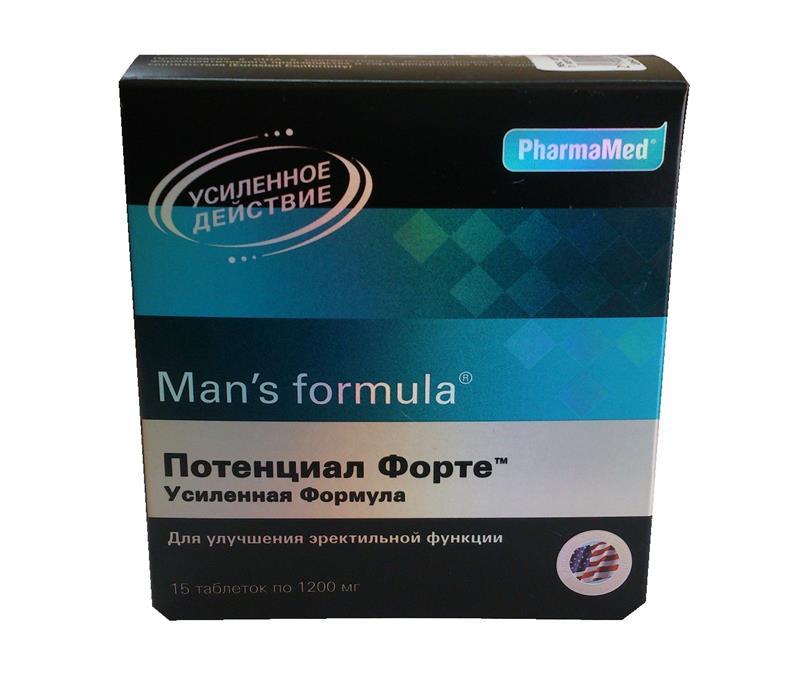 менс формула потенциал форте усиленная формула таблетки №15 West Coast Laboratories, Ins.