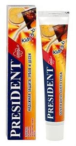 президент зубная паста детская кидс 3-6 лет кола 50 мл Betafarma