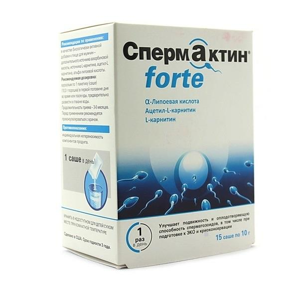 менс формула спермактин форте порошок 10 г №15 саше West Coast Laboratories