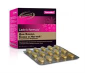 Ледис формула для волос, кожи и ногтей усиленная формула таблетки №60 фото